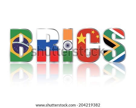 BRICS - stock vector