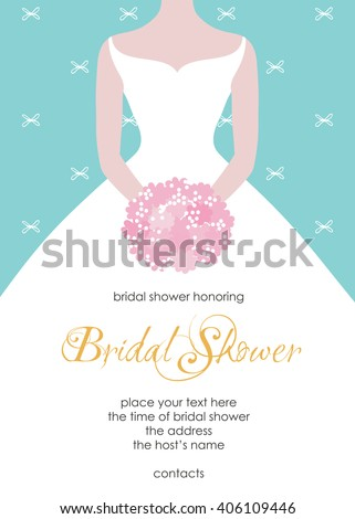 Bridal Shower Invitation Stock Images, Royalty-Free Images