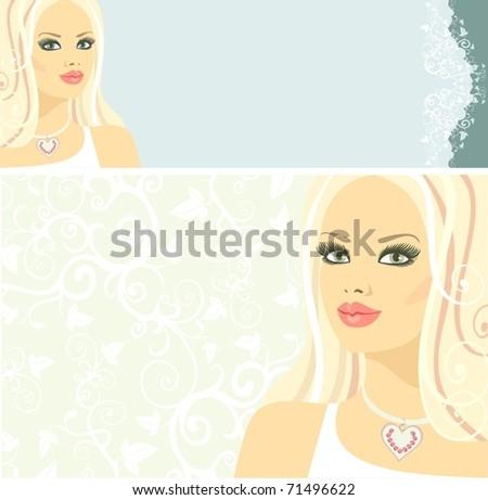 Bride - stock vector