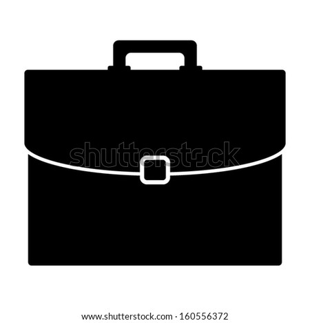 the gallery for gt open briefcase silhouette