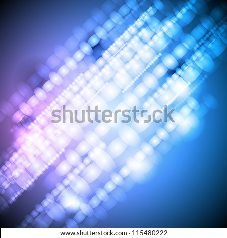 Bright abstract background. Vector design eps 10 - stock vector