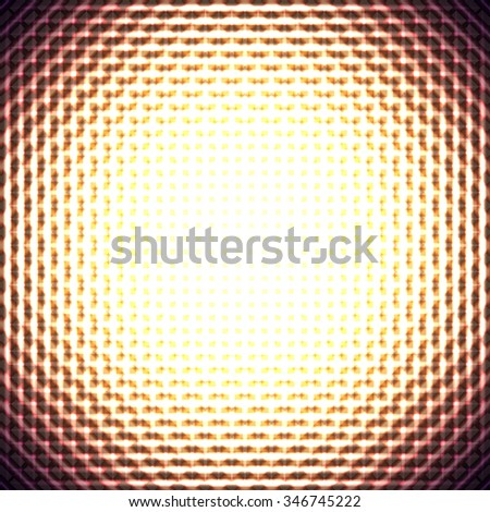 Bright abstract background. Vector Illustration - stock vector