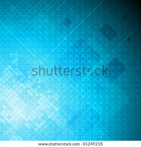 Bright abstract technical background - eps 10 vector - stock vector