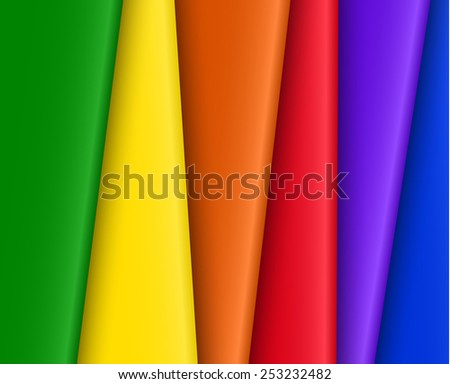 Bright abstract vector rainbow background for design. eps10 - stock vector