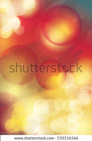 Bright and colorful abstract light effect graphic design background  - stock vector