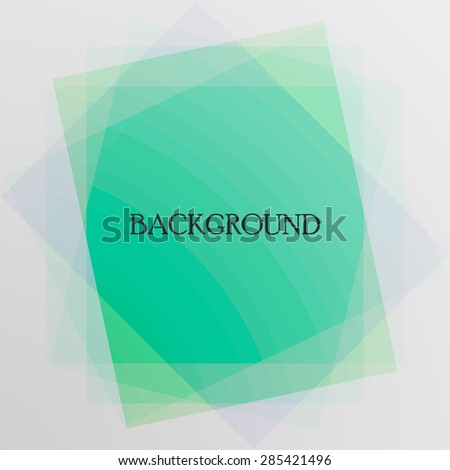 Bright  background. Abstract colorful illustration  - stock vector