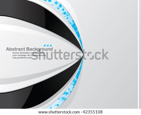 Bright background with random transparent blue squares. Vector illustration. - stock vector