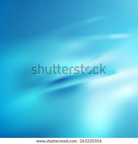 Bright blue abstract smooth texture background. Vector gradient mesh - stock vector