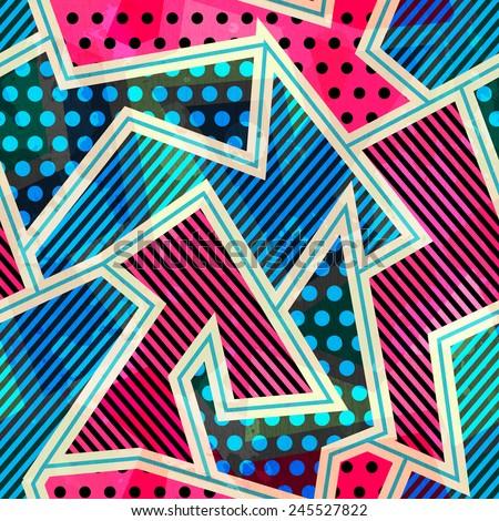 bright cloth seamless pattern - stock vector