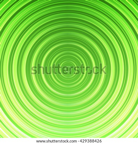 Bright green vector abstract background illustration - stock vector