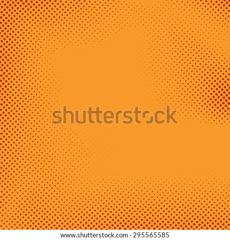 Bright Halftone Comic Book Style Background Stock Vector 295565585