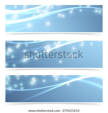 Bright modern swoosh speed sparkling flare line header footer web collection layout. Vector illustration - stock vector