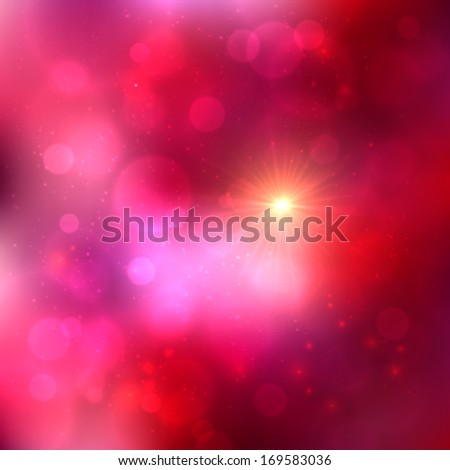 Bright pink abstract shining vector background - stock vector