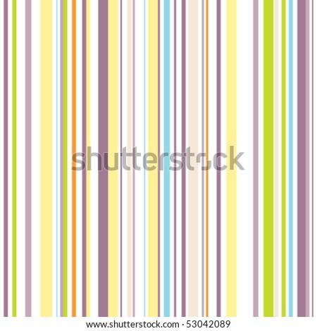 Bright pinstripe pattern - stock vector