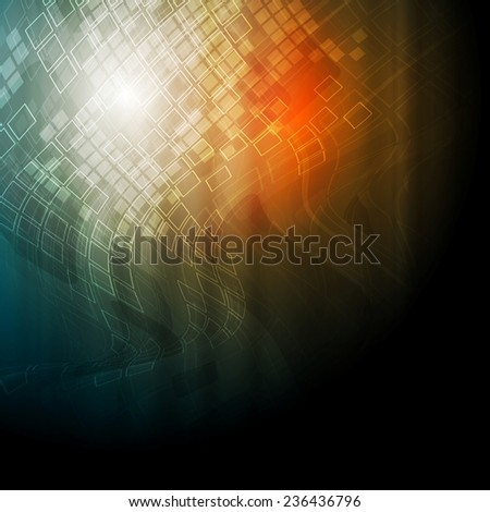 Bright technical texture background. Vector design - stock vector