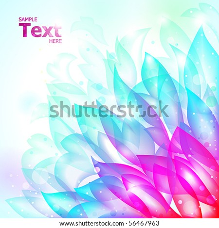 bright tender vector background - stock vector