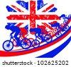 British bike - stock vector