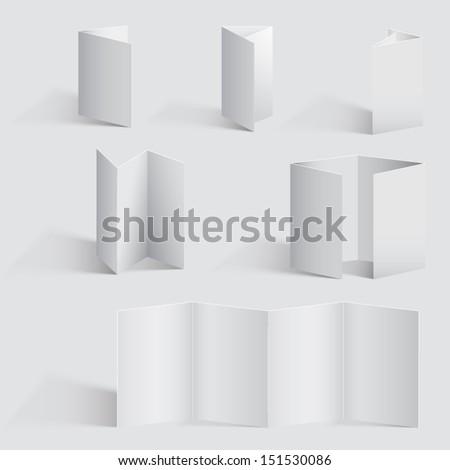 Brochure - stock vector
