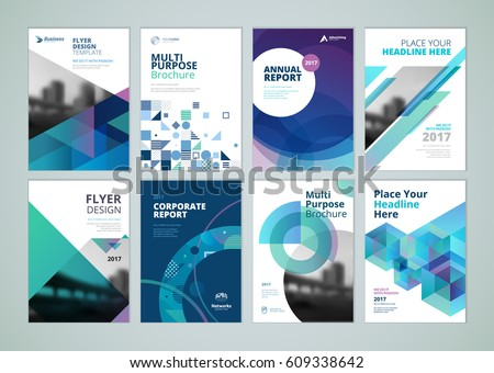 Brochure annual report flyer design templates stock vector royalty brochure annual report flyer design templates in a4 size set of vector illustrations cheaphphosting Choice Image