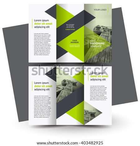 tri fold brochure design ideas - brochure design brochure template creative trifold stock