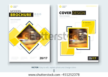construction brochure template - brochure design corporate business template report stock