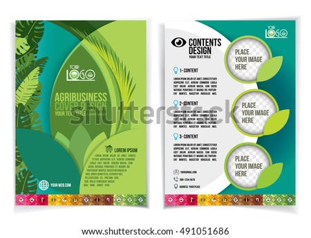 Agriculture brochure stock images royalty free images for Agriculture brochure templates