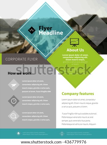 Brochure Design Template in letter size