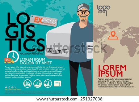 Brochure Design Templates Character And Illustrator Poster