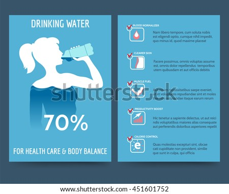 Body of water stock images royalty free images vectors for Water brochure template