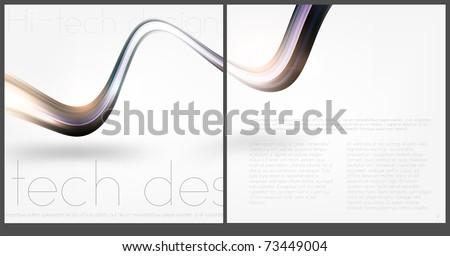 Brochure Layout Design - stock vector