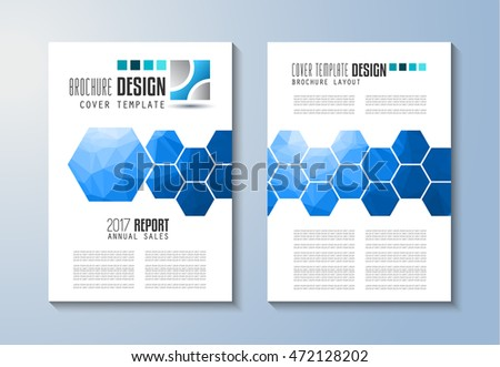 Brochure Design Flyer Template Editable A4 Stock Vector 358489298