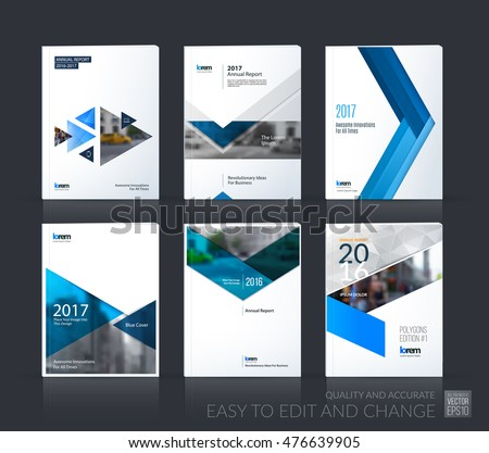 Brochure Template Layout Cover Design Annual Stock Vector 476639905