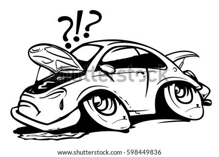 Image Result For Flat Tire Broken Car