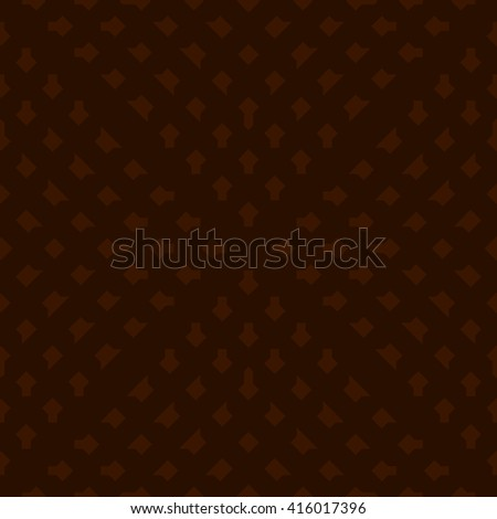 Brown abstract background, striped textured geometric seamless pattern