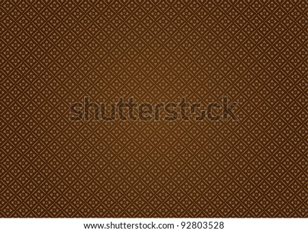 brown abstract patern - stock vector