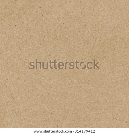 Brown craft paper cardboard texture. Vector EPS8