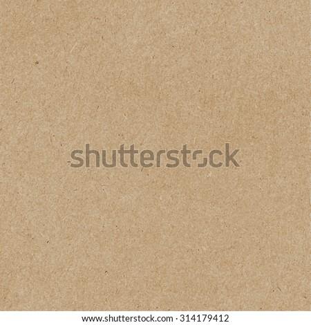 Brown craft paper cardboard texture. Vector EPS8 - stock vector