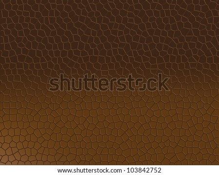 Brown gradient snake skin like as texture and background. - stock vector