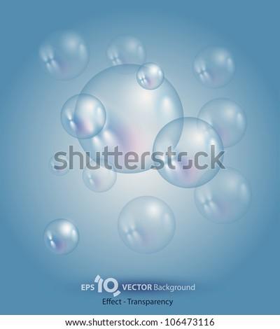 bubble - stock vector
