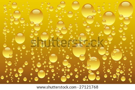 Bubble beer background