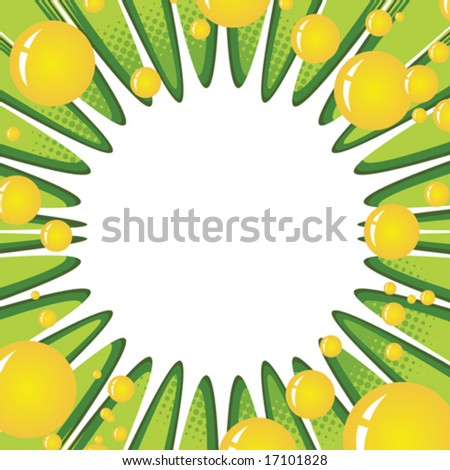 Bubble mania - stock vector