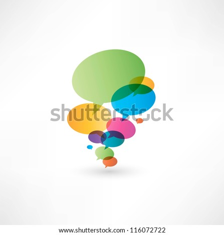 Bubbles icon - stock vector