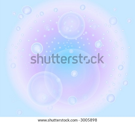 bubbles in water, abstract color textures