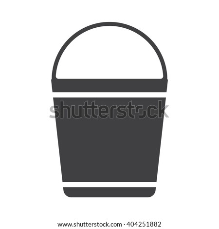 Bucket  icon, Bucket  icon eps10, Bucket  icon vector, Bucket  icon eps, Bucket  icon jpg, Bucket  icon path, Bucket  icon flat, Bucket  icon app, Bucket  icon web, Bucket  icon art, Bucket  icon AI - stock vector