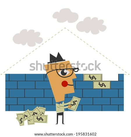 Building a money wall