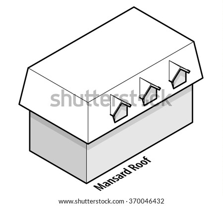 Building Roof Type: Mansard Roof.
