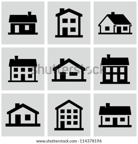 Buildings set. - stock vector