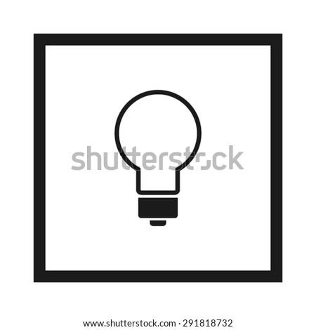bulb - stock vector