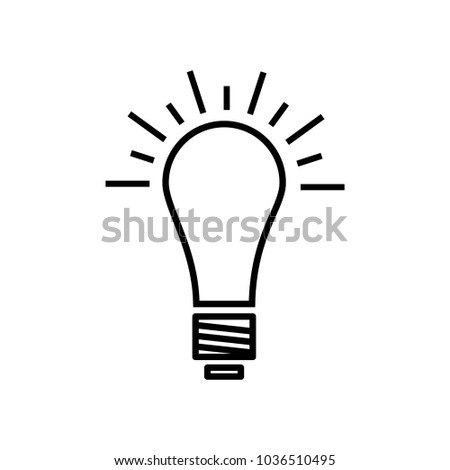Bulb Bright Idea Icon