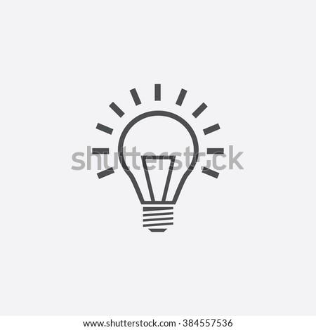 bulb Icon. bulb Icon Vector. bulb Icon Art. bulb Icon eps. bulb Icon Image. bulb Icon logo. bulb Icon Sign. bulb Icon Flat. bulb Icon design. bulb icon app. bulb icon UI. bulb icon web. bulb icon gray - stock vector